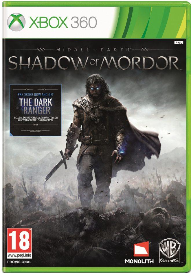 Xbox 360 Middle Earth: Shadow of Mordor (Средиземье: Тени Мордора) Xbox 360