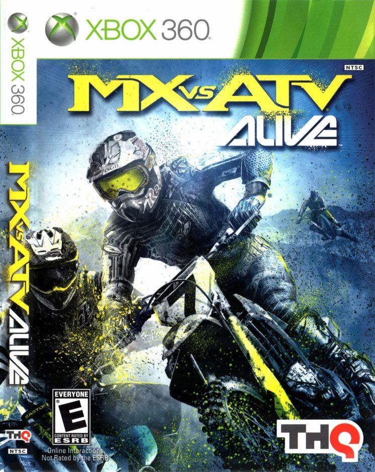 Xbox 360 MX vs ATV Alive Xbox 360