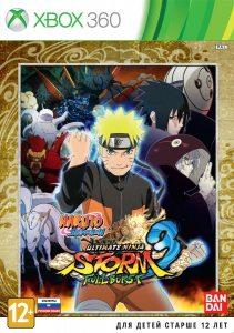 Xbox 360 Naruto Shippuden: Ultimate Ninja Storm 3 Full Burst