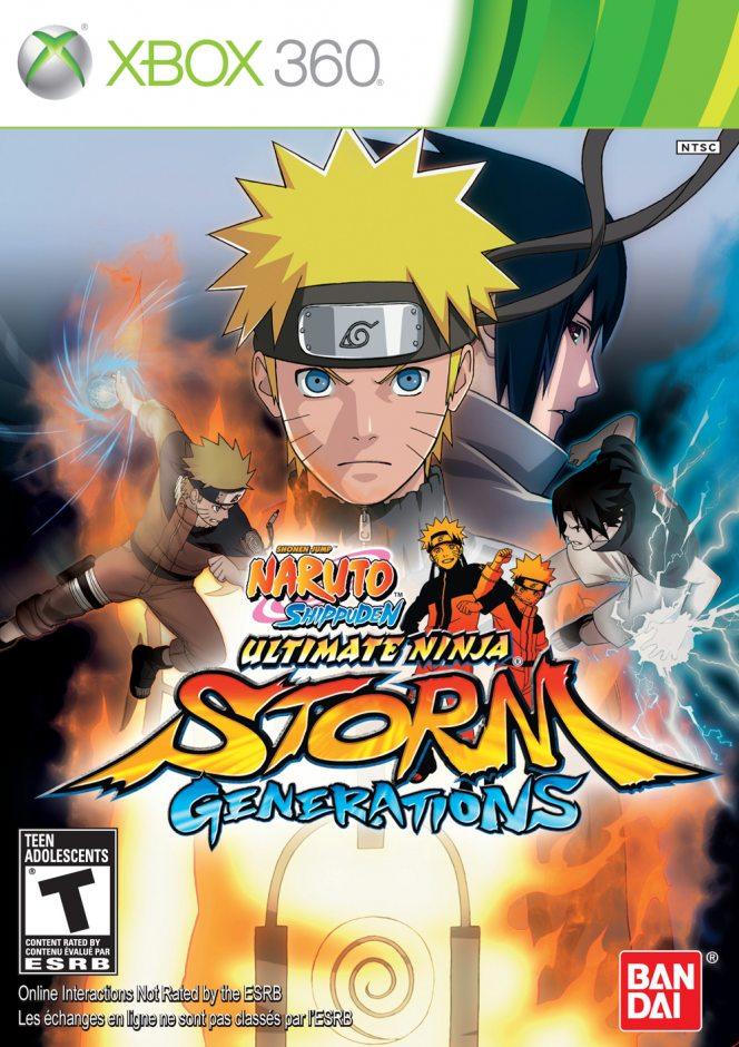 Xbox 360 Naruto Shippuden: Ultimate Ninja Storm Generations Xbox 360