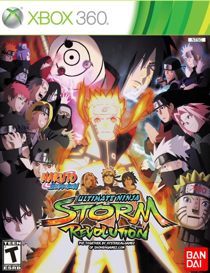Xbox 360 Naruto Shippuden Ultimate Ninja Storm Revolution Xbox 360