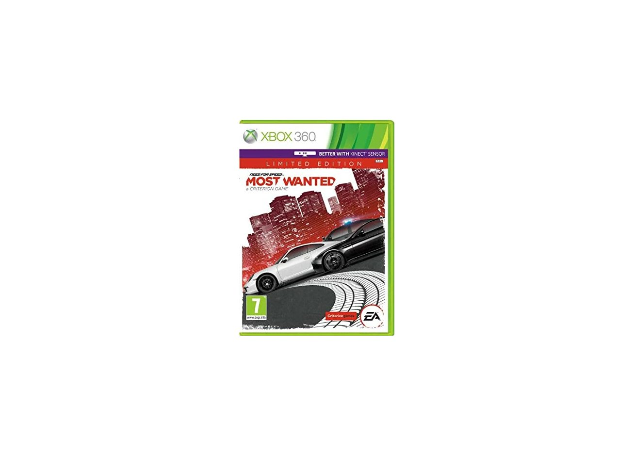 Xbox 360 Need for Speed: Most Wanted (2012) Xbox 360