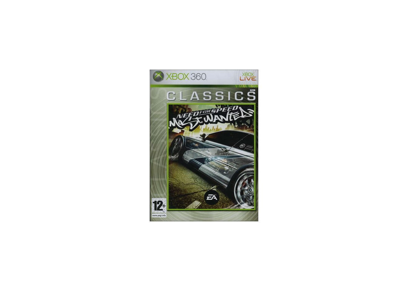 Xbox 360 Need for Speed: Most Wanted (Classics) Xbox 360