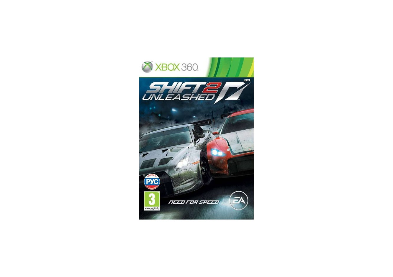 Xbox 360 Need for Speed: Shift 2 Unleashed Xbox 360
