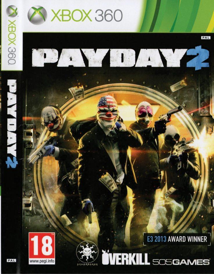 Xbox 360 Payday 2 Xbox 360