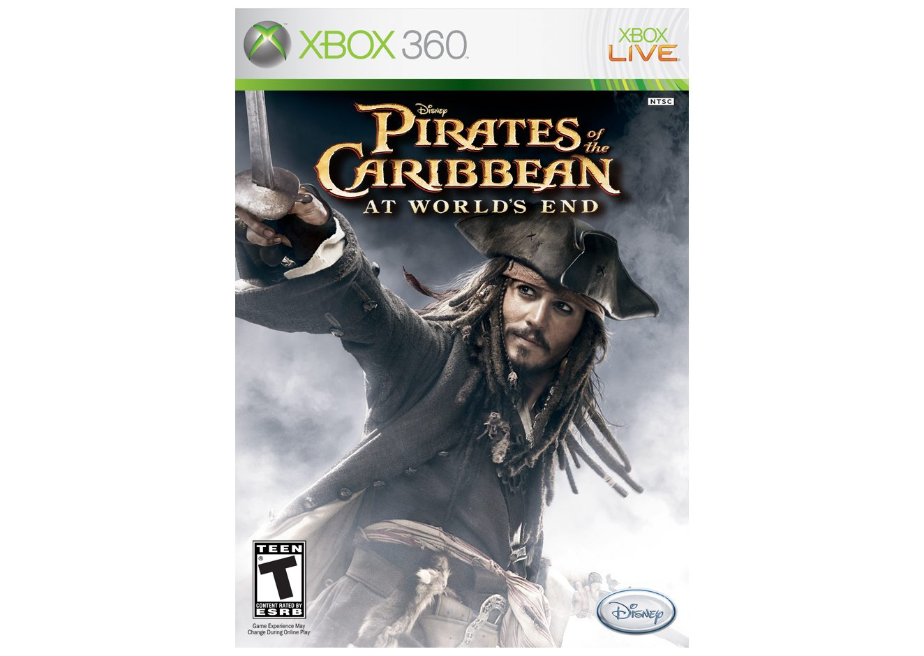 Xbox 360 Pirates of the Caribbean: At World's End (Пираты Карибского моря. На краю света) Xbox 360