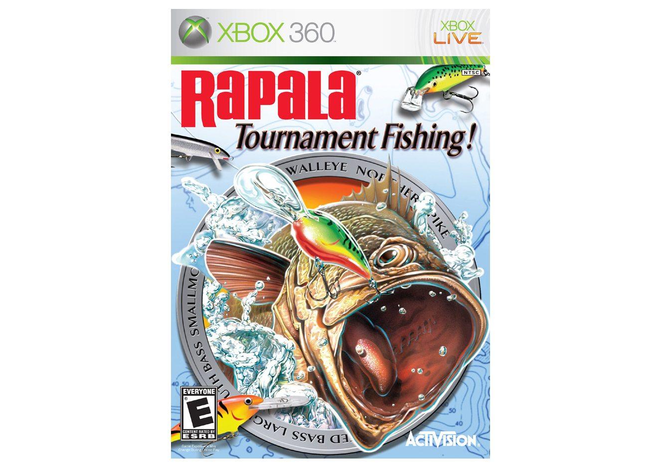 Xbox 360 Rapala Fishing Xbox 360