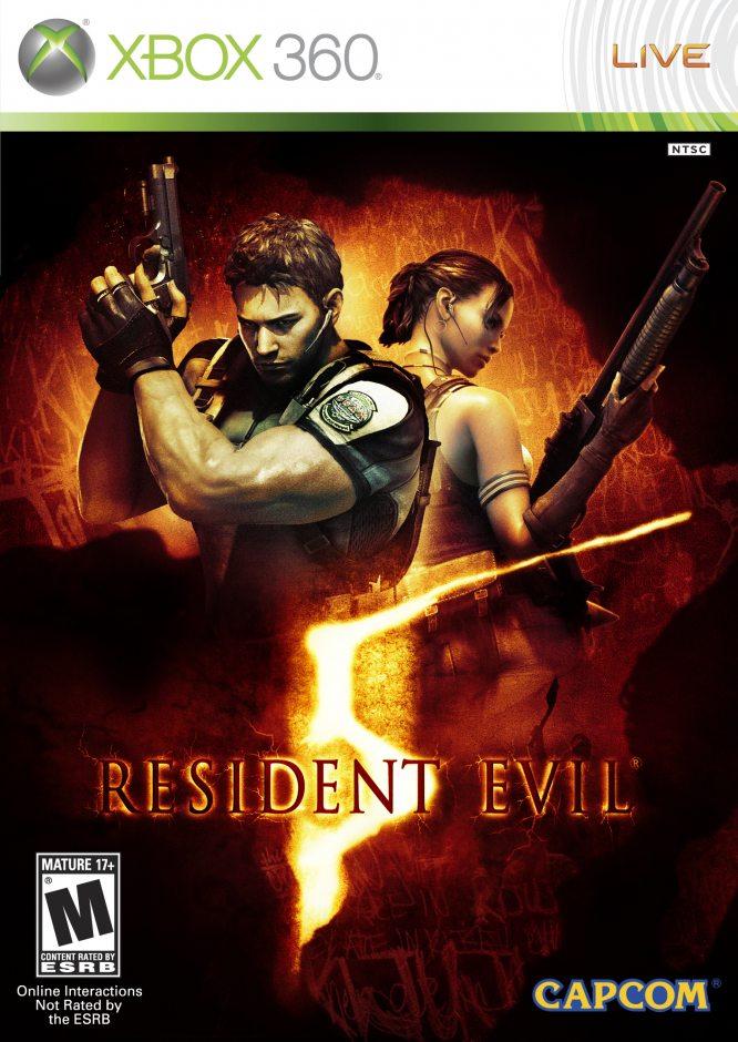 Xbox 360 Resident Evil 5 Xbox 360