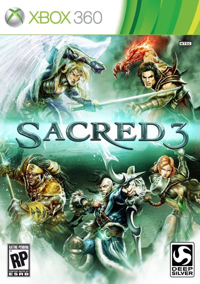 Xbox 360 Sacred 3 Xbox 360