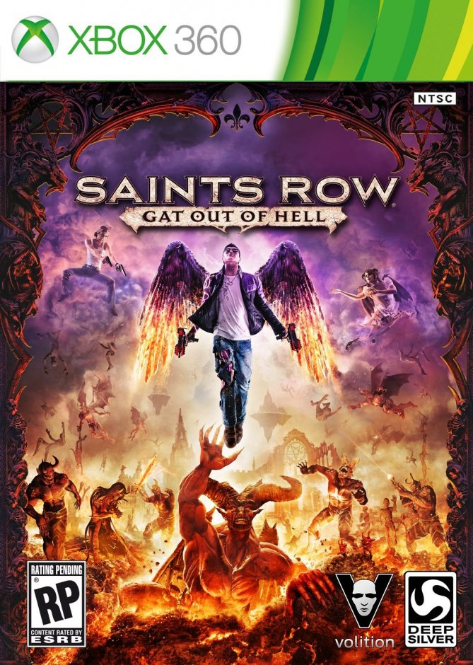 Xbox 360 Saints Row: Gat Out of Hell Xbox 360
