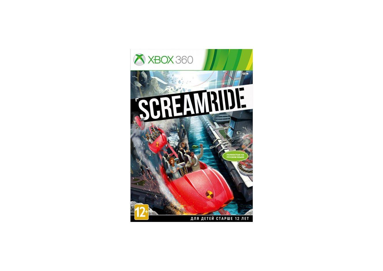 Xbox 360 Screamride Xbox 360
