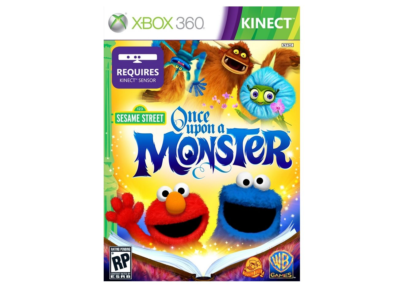 Xbox 360 Sesame Street: Once Upon a Monster Xbox 360