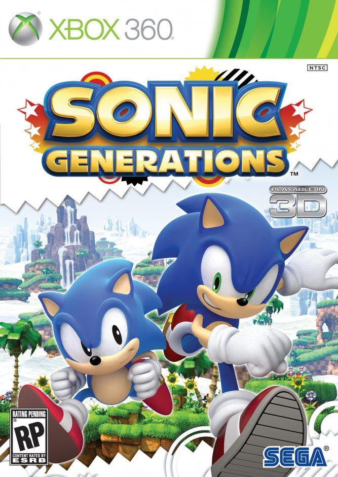 Xbox 360 Sonic Generations Xbox 360