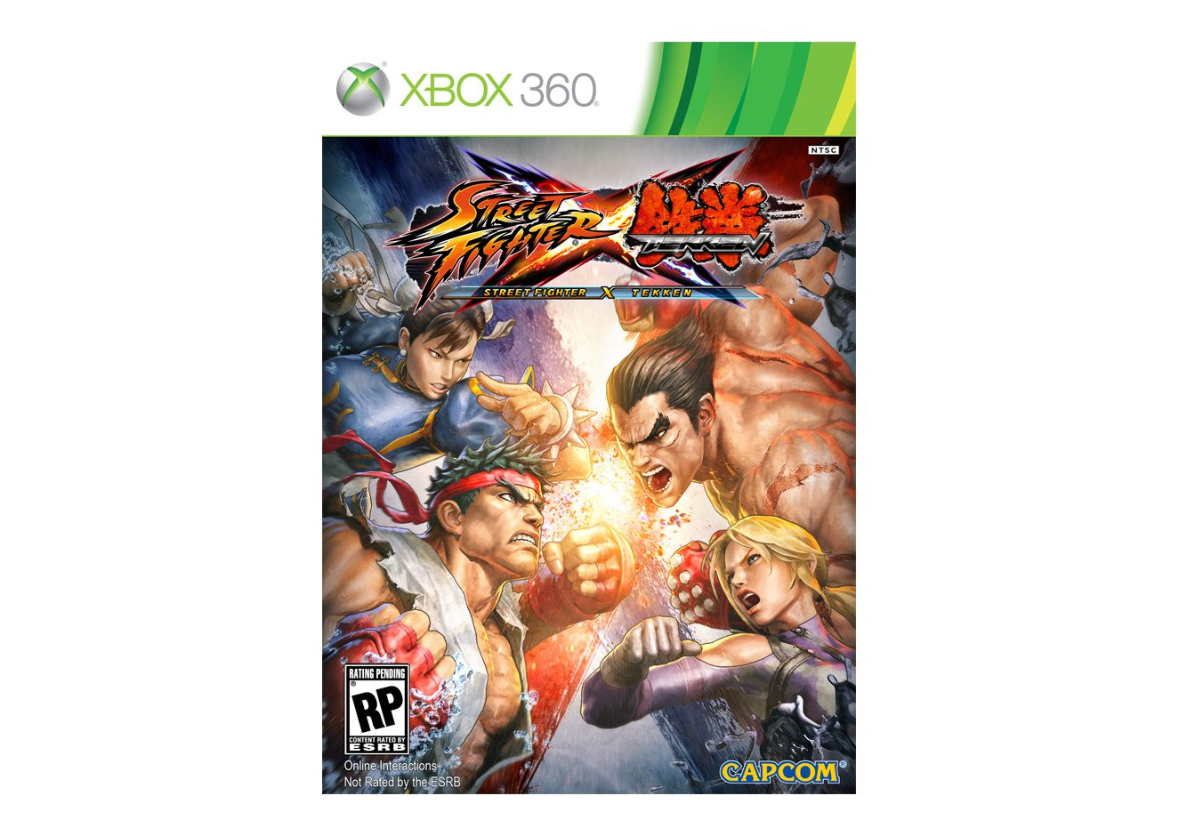 Xbox 360 Street Fighter x Tekken Xbox 360