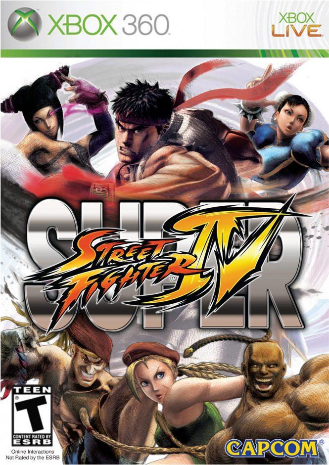Xbox 360 Super Street Fighter 4 Xbox 360