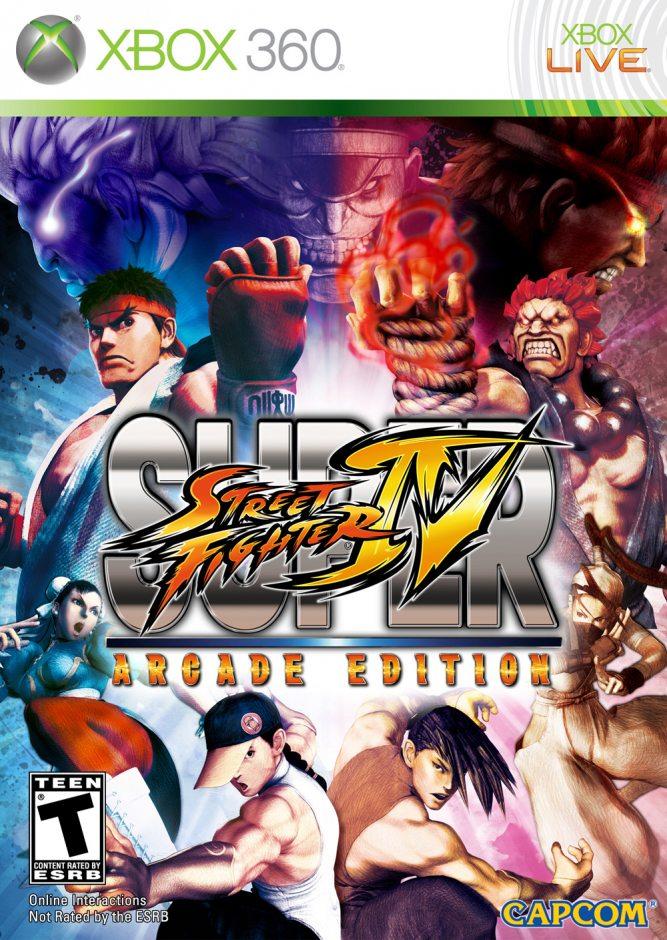 Xbox 360 Super Street Fighter IV Arcade Edition Xbox 360