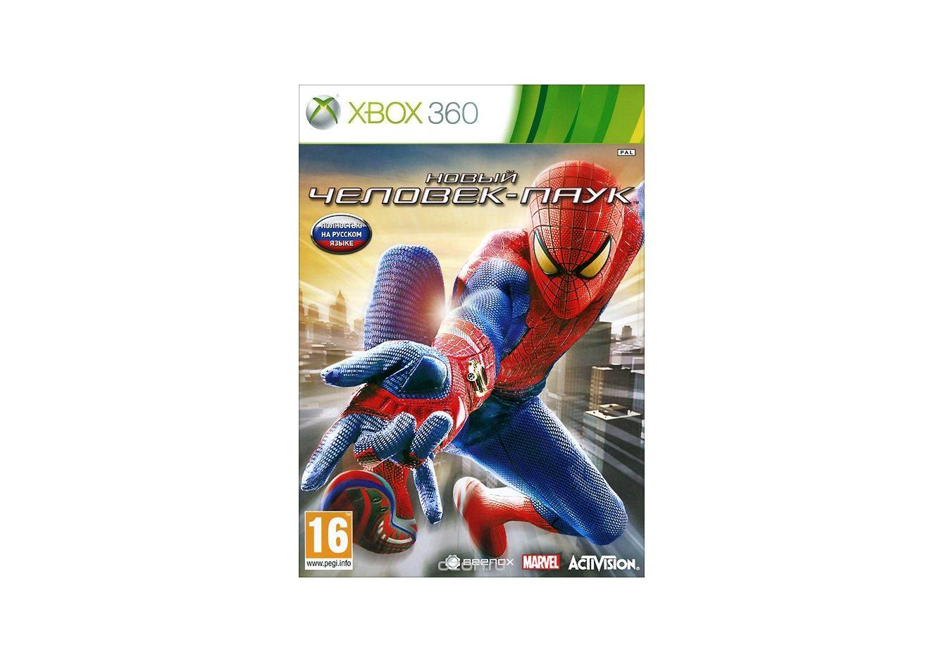 Xbox 360 The Amazing Spider-Man (Новый Человек-паук) Xbox 360