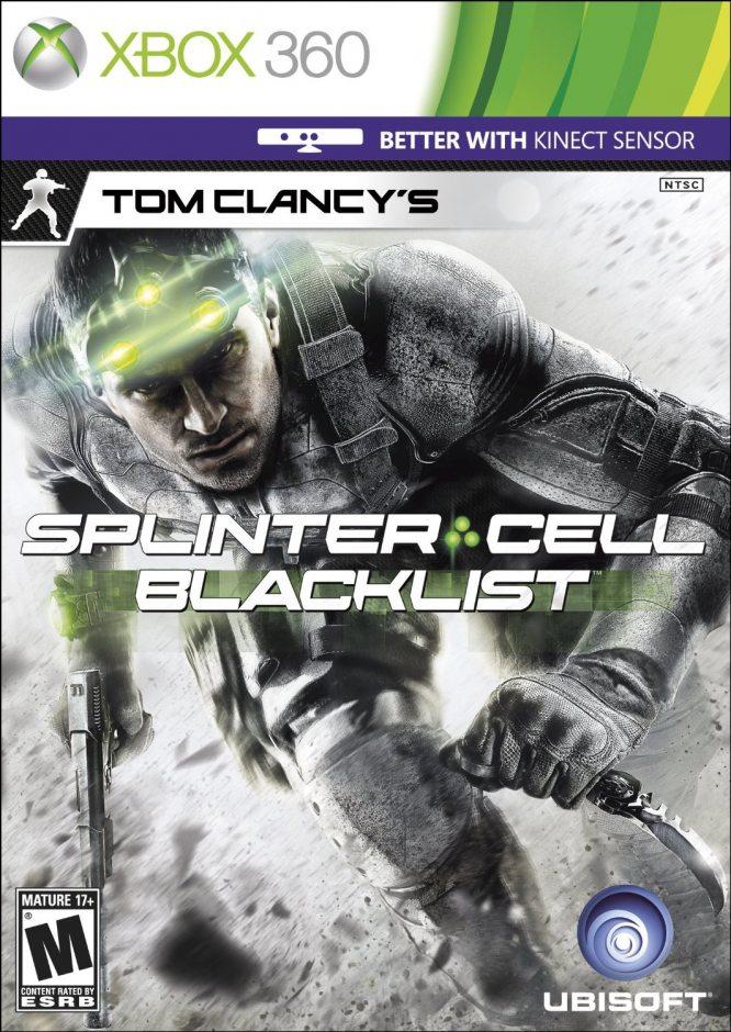 Xbox 360 Tom Clancy's Splinter Cell: Blacklist Xbox 360
