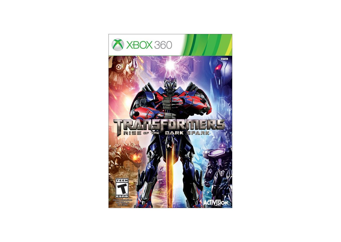 Xbox 360 Transformers: Rise of the Dark Spark (Трансформеры: Битва за Тёмную Искру) Xbox 360