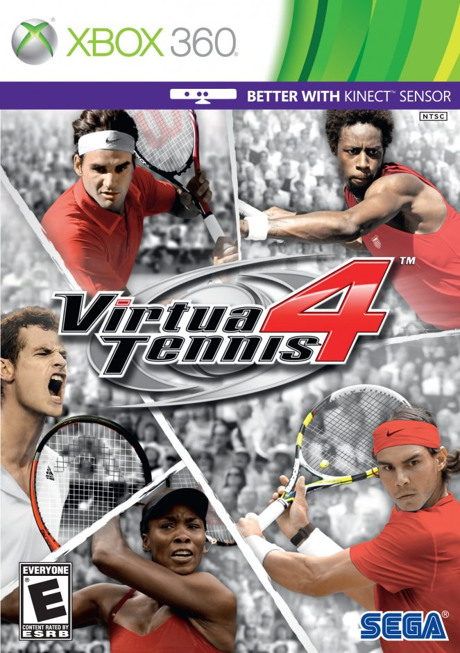 Xbox 360 Virtua Tennis 4 Xbox 360