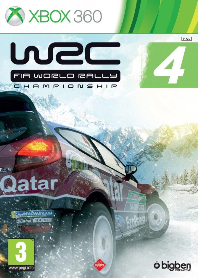 Xbox 360 WRC FIA World Rally Championship 4 Xbox 360