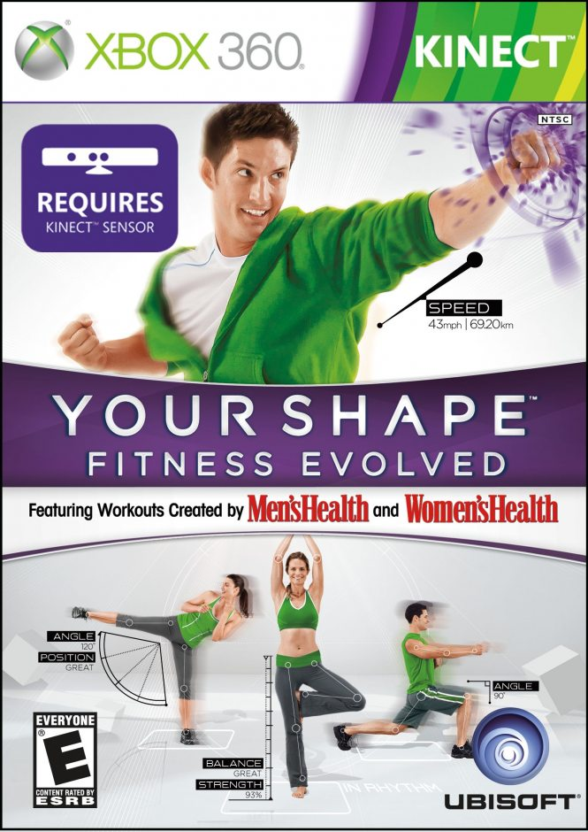 Xbox 360 Your Shape Fitness Evolved Xbox 360