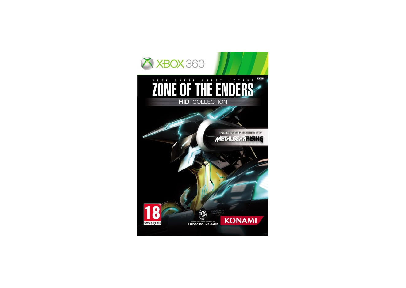 Xbox 360 Zone of the Enders HD Collection Xbox 360