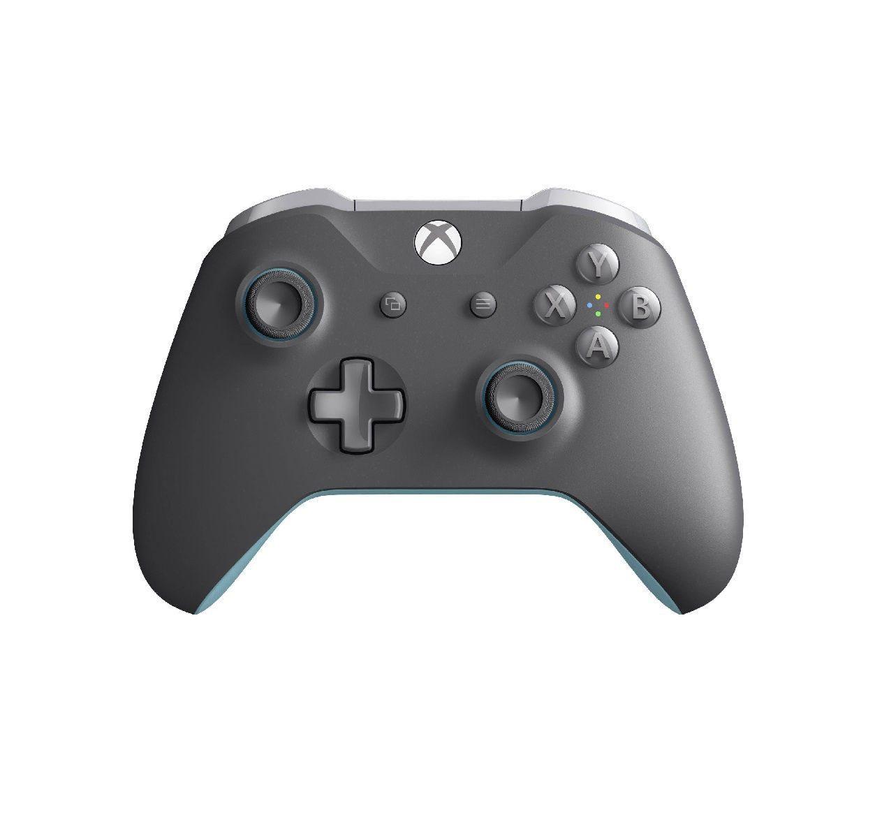 Геймпад для Xbox One (серый голубой)