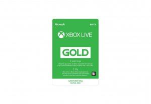 Золотой статус Xbox Live Gold 3 месяца Xbox, цифровая версия