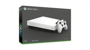 Игровая консоль Xbox One X 1TB белая