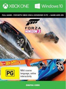 Xbox One Код загрузки Forza Horizon 3