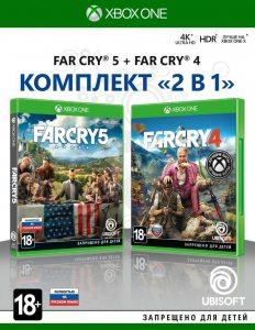 Xbox One Комплект «Far Cry 4» и «Far Cry 5»