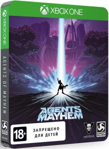 Xbox One Agents of Mayhem. Steelbook Edition