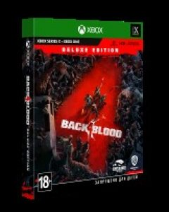 Xbox One Back 4 Blood. Deluxe Edition