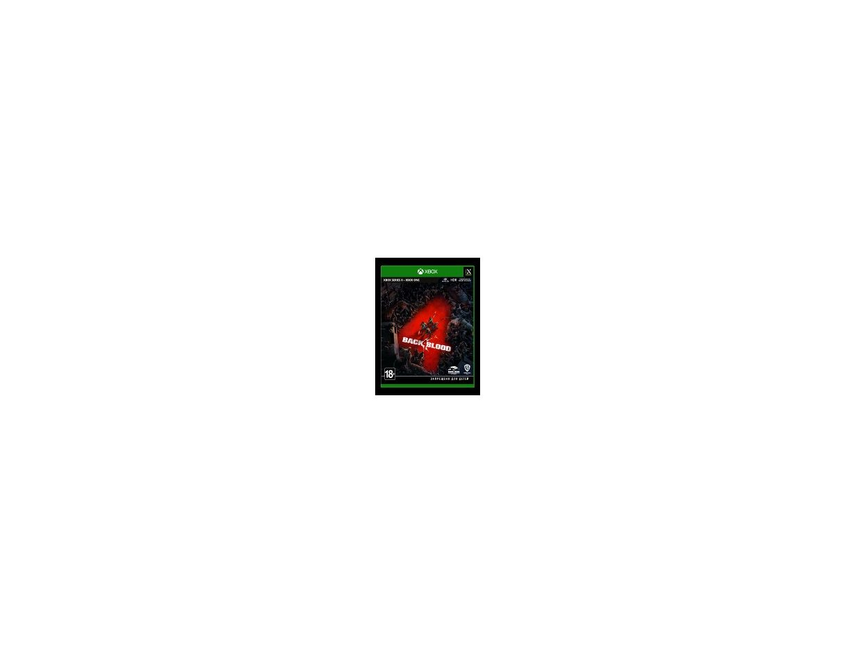 Xbox One Back 4 Blood Xbox One