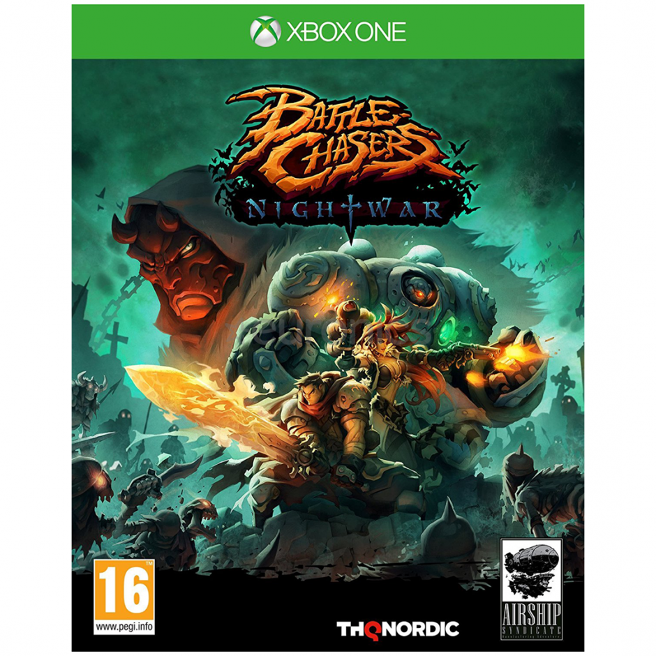 Xbox One BattleChasers. Nightwar Xbox One