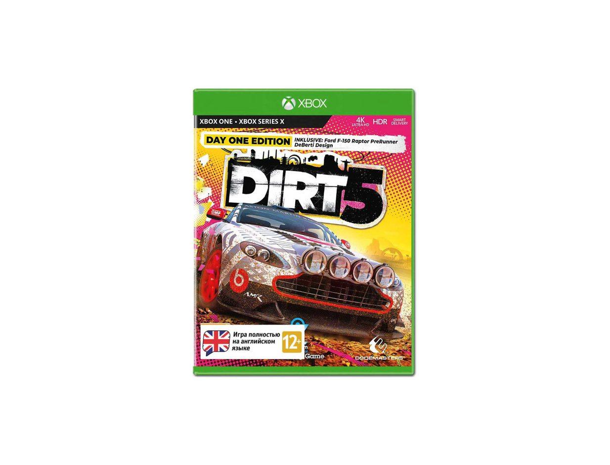 Xbox One Dirt 5. Издание первого дня Xbox One