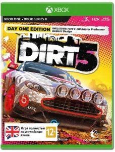 Xbox One Dirt 5. Издание первого дня