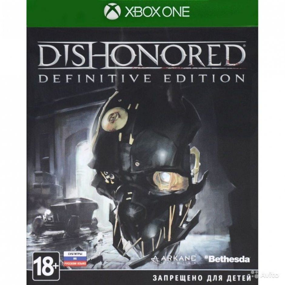 Xbox One Dishonored Definitive Edition Xbox One