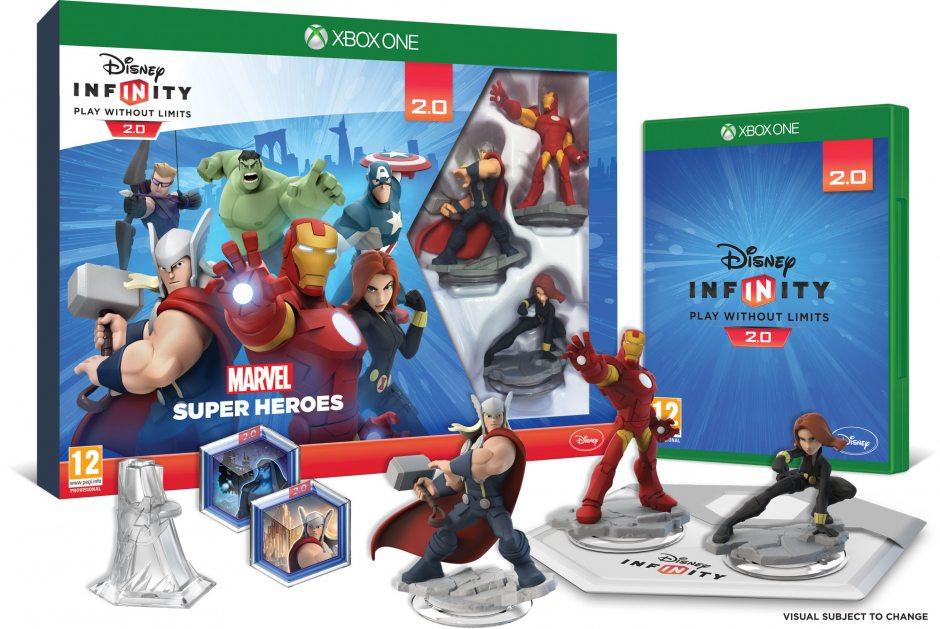 Xbox One Disney. Infinity 2.0 Стартовый набор Xbox One