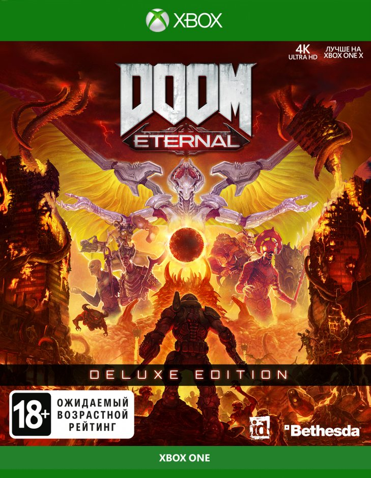 Xbox One DOOM Eternal. Deluxe Edition Xbox One