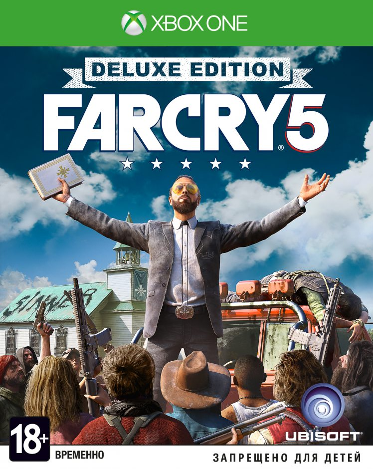 Xbox One Far Cry 5. Deluxe Edition Xbox One