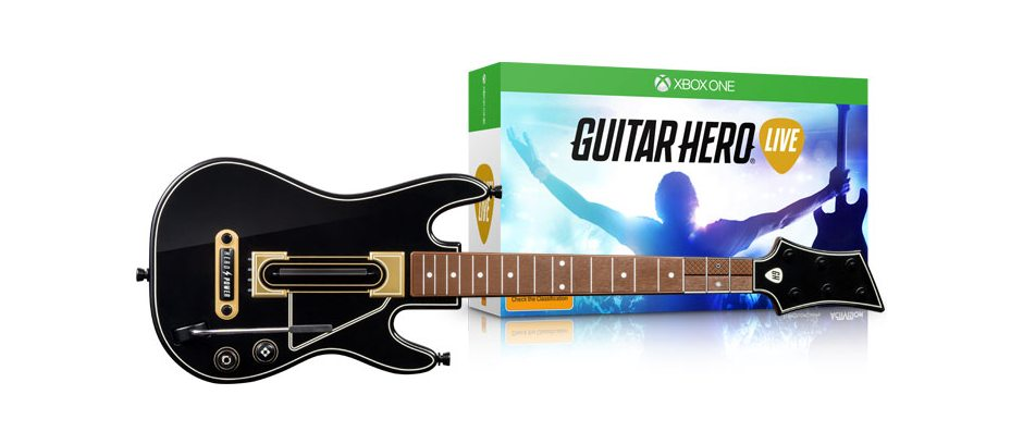 Xbox One Guitar Hero Live Bundle Xbox One