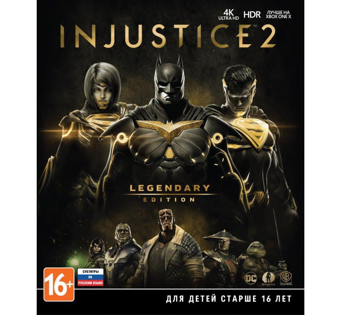 Xbox One Injustice 2. Legendary Edition Xbox One