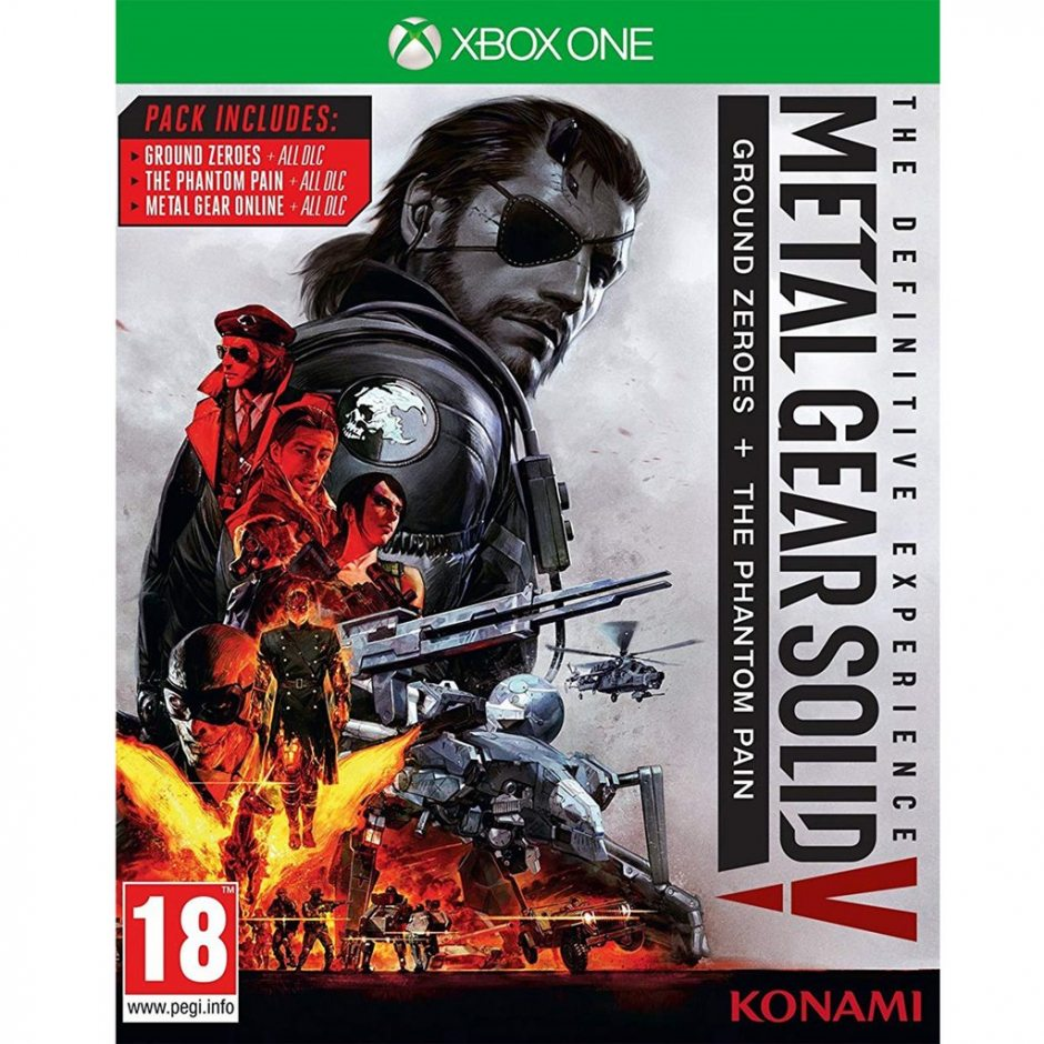 Xbox One Metal Gear Solid V: The Definitive Experience Xbox One