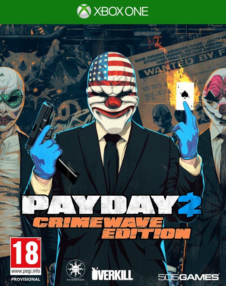 Xbox One Payday 2. Crimewave Edition Xbox One
