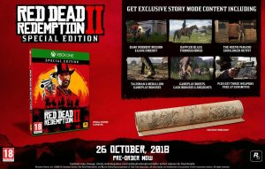 Xbox One Red Dead Redemption 2. Special edition Xbox One