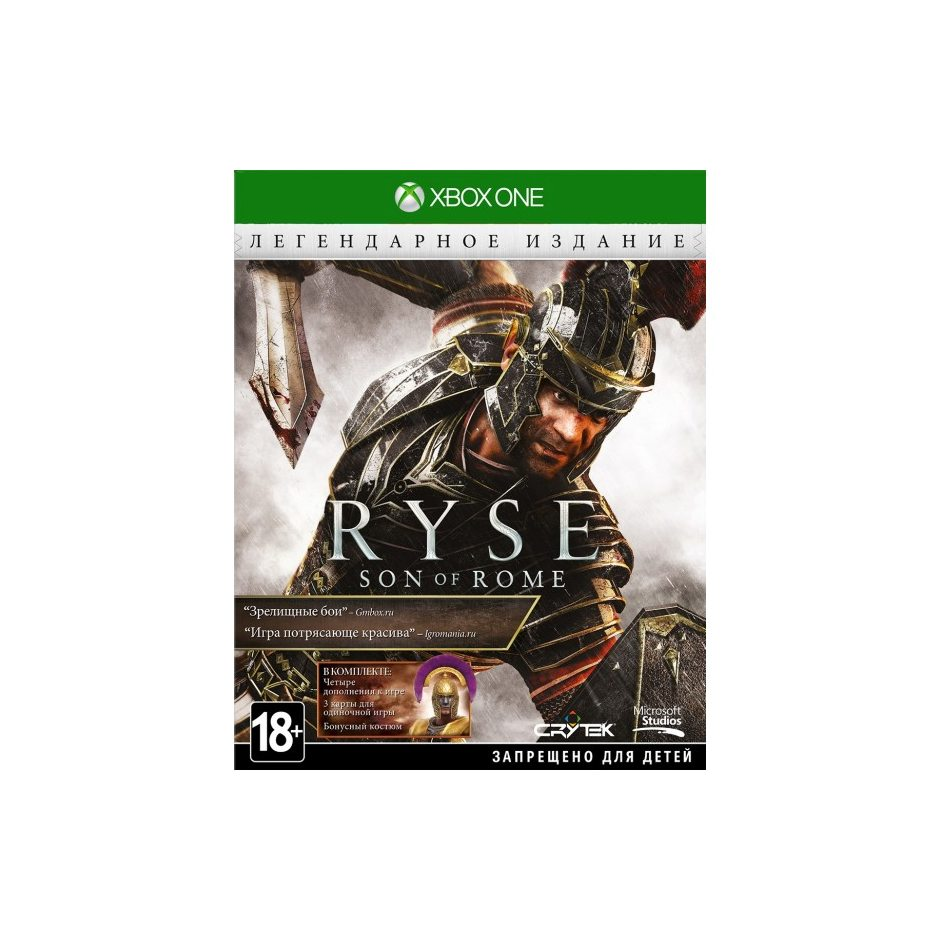 Xbox One Ryse: Son of Rome. Legendary Edition Xbox One