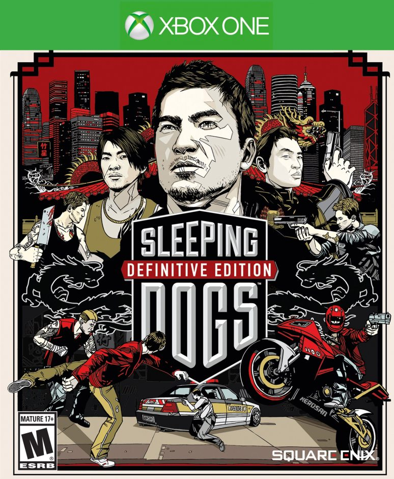 Xbox One Sleeping Dogs. Definitive Edition Xbox One