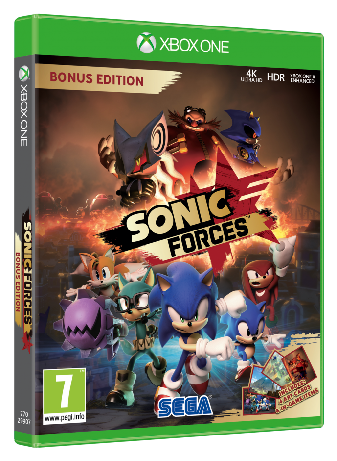 Xbox One Sonic Forces Xbox One